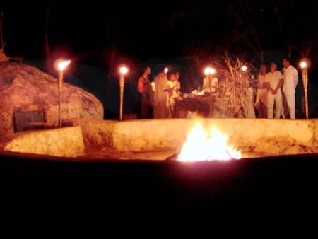 Imagini Mexic: Ceremonie maya