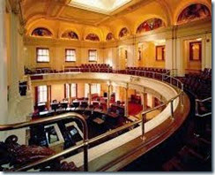 NJ Senate Chamber and gallery