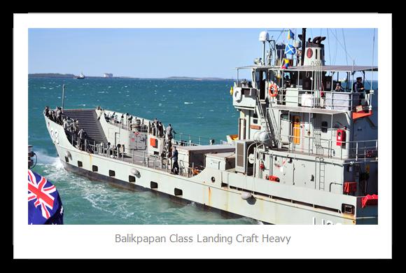 Balikpapan class landing craft heavy