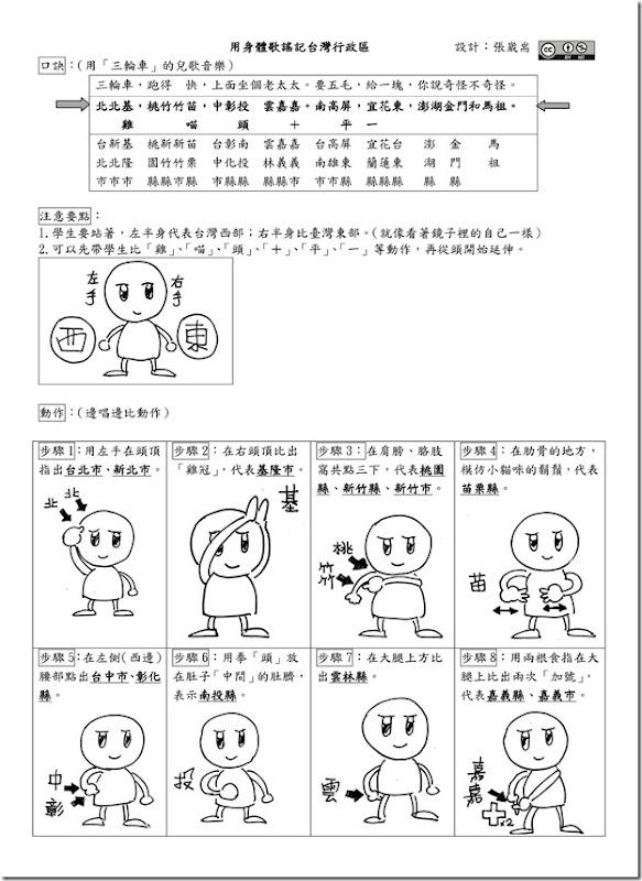 用身體歌謠記台灣行政區2_01