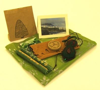 Geschenke von der grünen Insel