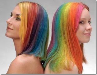 cabello multicolor