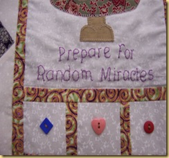 Angel quilt close up 2