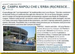 STADIOTARDINI COM CANTA NAPOLI CHE L'ERBA RICRESCE