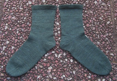 Stockrosensocken