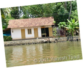 A tribal home on the bank of vembanad lake @Kumarakom (Yanesh tyagi)
