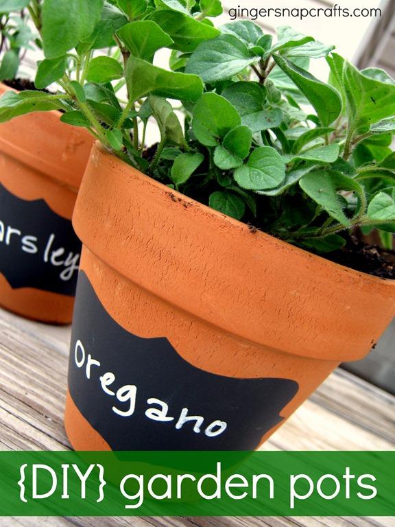 herb garden pots