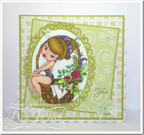 Lia Stampz Flower Girl (2)