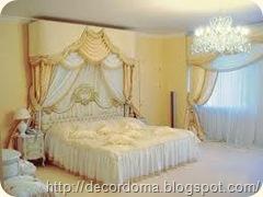 люстры для декора интерьера спальни 1