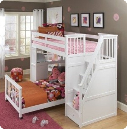 staircase bunkbed