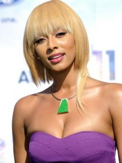 Short Fringe Hairstyle by Keri Hilson