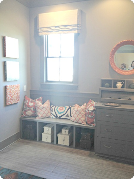 grey mud room