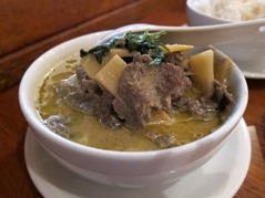 Thai 'Green' Beef Curry