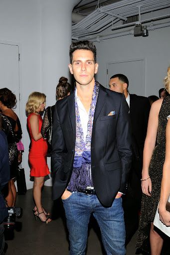 Gabe Saporta, he and his wife Erin Fetherson our cover couple in the current issue of Martha Stewart Weddings Photo - Nicholas Hunt/PatrickMcMullan.com
