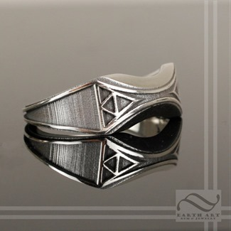 Mens Zelda Weding Band from Earth Art Jewelry and Gem
