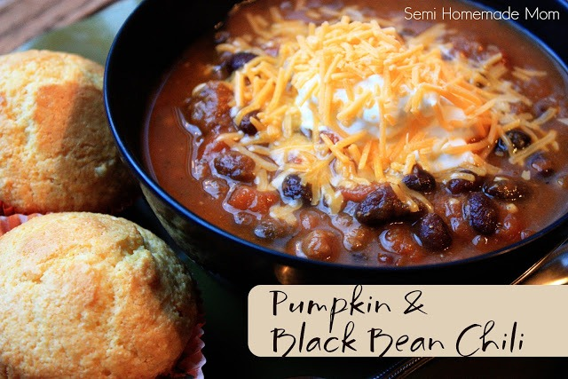 Pumpkin & Black Bean Chili 1