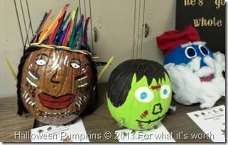 Indian Frankenstien, Papa Smurf Halloween pumpkin