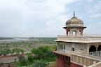 Vue sur le Taj