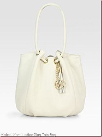 MICHAEL MICHAEL KORS Leather Ring Tote Bag_thumb[2]