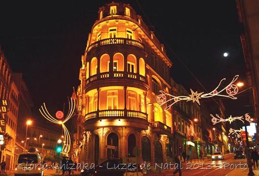 Glória Ishizaka - Luzes de Natal 2013 - Porto  11 Rua Sá da Bandeira com 31 de Janeiro