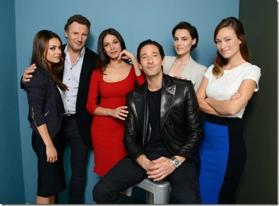 Cast of THIRD PERSON - MILA KUNIS- LIAM NEESON- MORAN ATIAS -ADRIEN BRODY -LOAN CHABANOL -OLIVIA WILDE