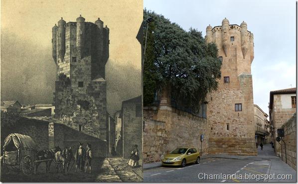 Torre del Clavero (Salamanca) (1865) - FJ Parcerisa -Charrilandia 2013