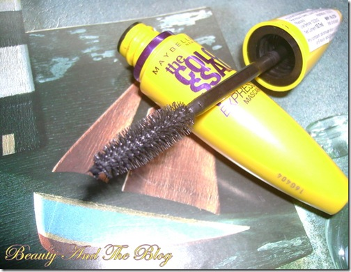 Maybelline Volum' Express Colossal Washable Mascara In Glam Black Review