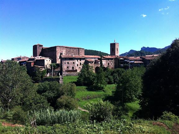 Nucli medieval de Santa Pau