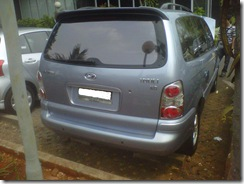 hyundai trajet g 2.0 at thn 2007 an Yoo Song Hion ACC