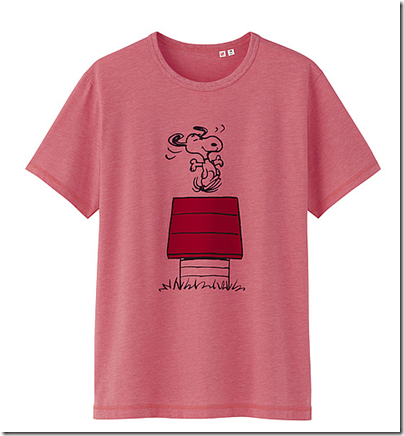 Uniqlo X Snoopy Tee - Man 06