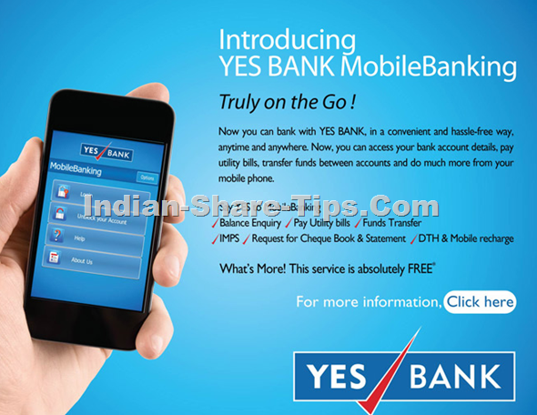 yes bank mobile banking