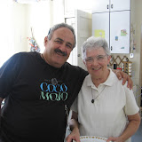Michael and Sr. Rita at Angela House in 2008