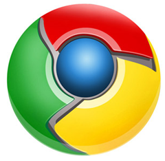 make google chrome logo