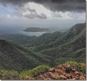 Santa Catalina vista desde The Peak, em OldProvidence Autor Luiz Jr. Fernandes