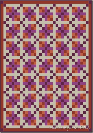 7 Twin Quilt - Colors (66 x 90)