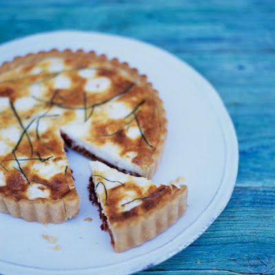 Goat's Cheese & Sun-dried Tomato Tart