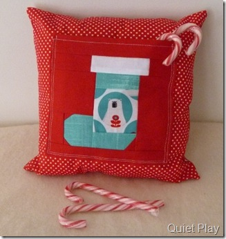 Sew Seasonal Brr Cushion