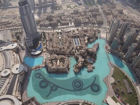 Lacul de la Dubai Mall