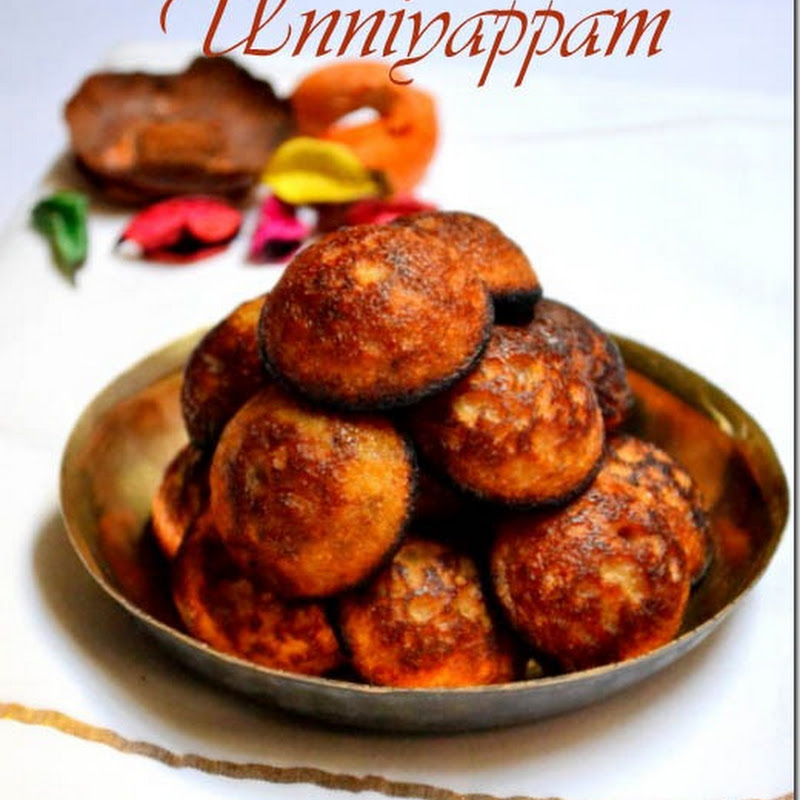 Unniyappam | Inippu Appam | Onam Recipes