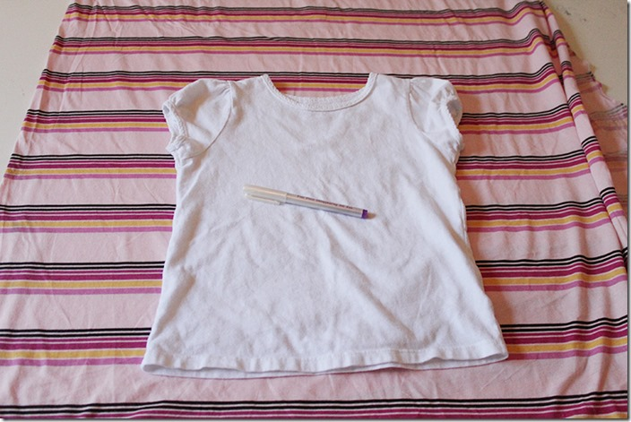 Dolman Top Tutorial Shirt Template