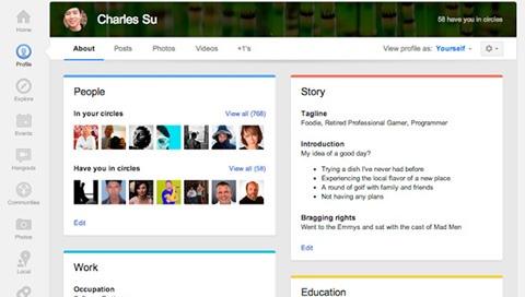 Nuevos cambios en Google Plus