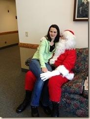 Bridget and Santa