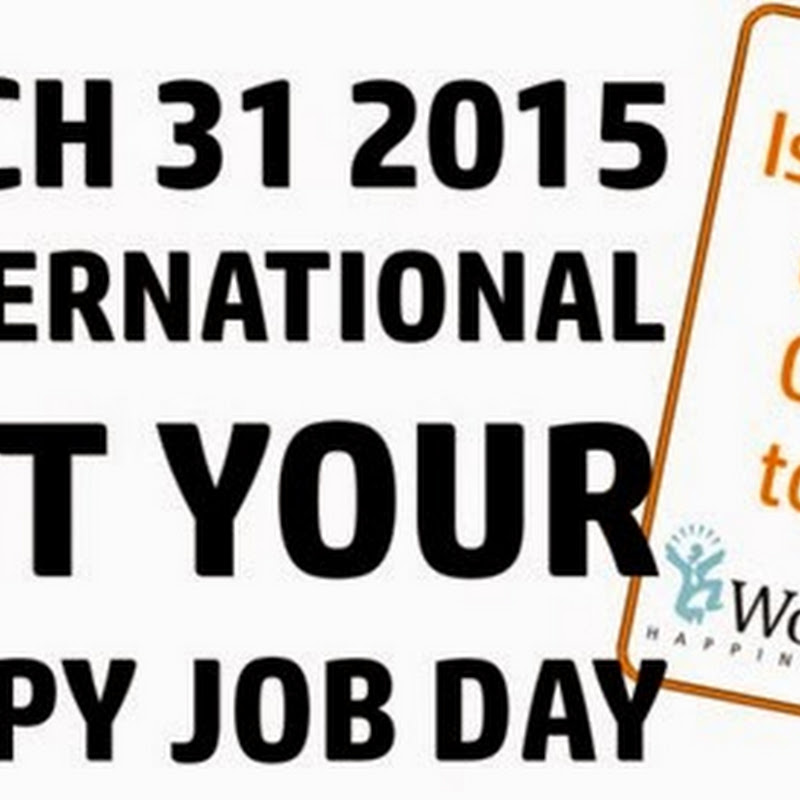 International Quit Your Crappy Job Day