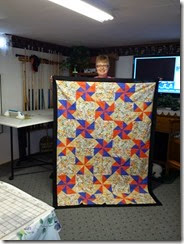 Renea's Habitat quilt top