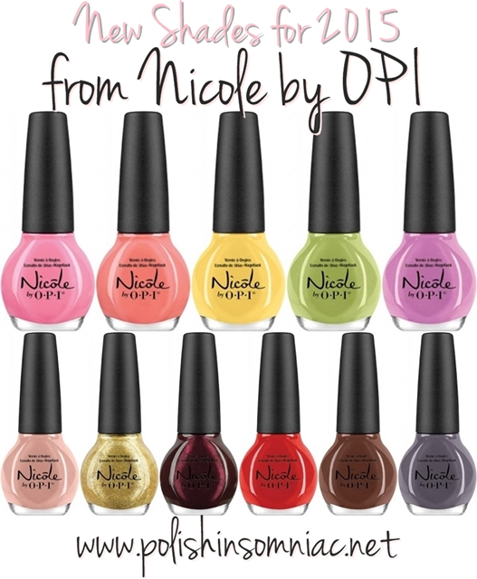 Nicole by OPI - New Shades for 2015