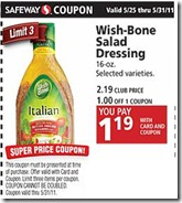 Wishbone coupon