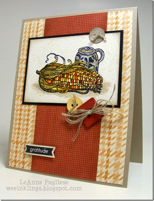 LeAnne Pugliese WeeInklings Harvest Home Stampin Up