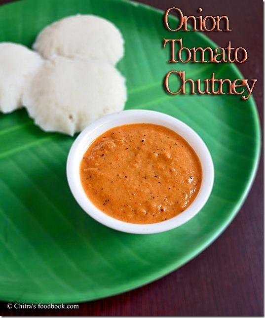 ONION -TOMATO CHUTNEY