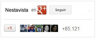 seguidores google  en nestavista