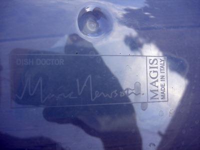 Marc Newson Dish Doctor dishrack, imprint